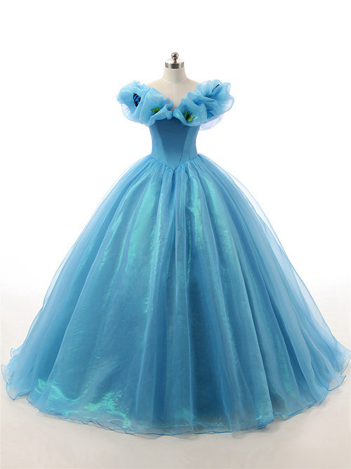 Organza Matric Ball Dress Butterflies