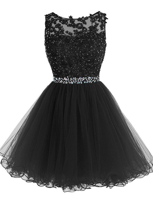 Princess Scoop Tulle Matric Dress Beads Applique