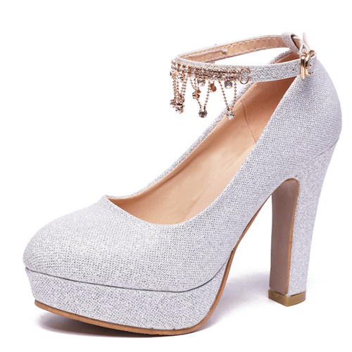 Silver Bridal Party Shoes